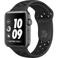 Смарт часовник Apple Watch Nike+ 3, GPS, Корпус Space Grey Aluminium 42 мм, Anthracite/Black Nike Sport Band