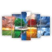 Декоративни панели Модерн Декор Абстракция сезони, 100х60 см