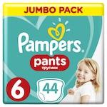Pampers Pats Nadrágpelenka, Jumbo Pack, 6-os méret, 15+ kg, 44 db