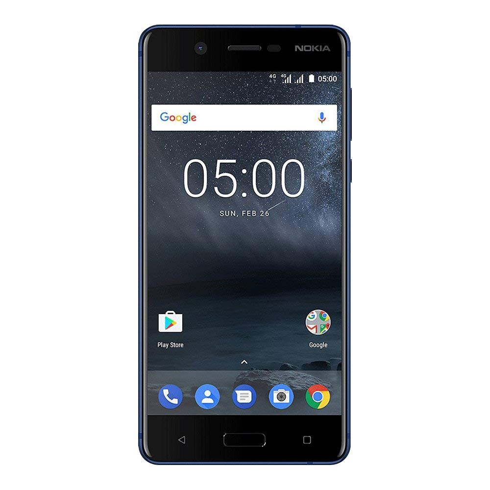 Fotografie Telefon mobil Nokia 5, Single SIM, 16GB, Tempered Blue