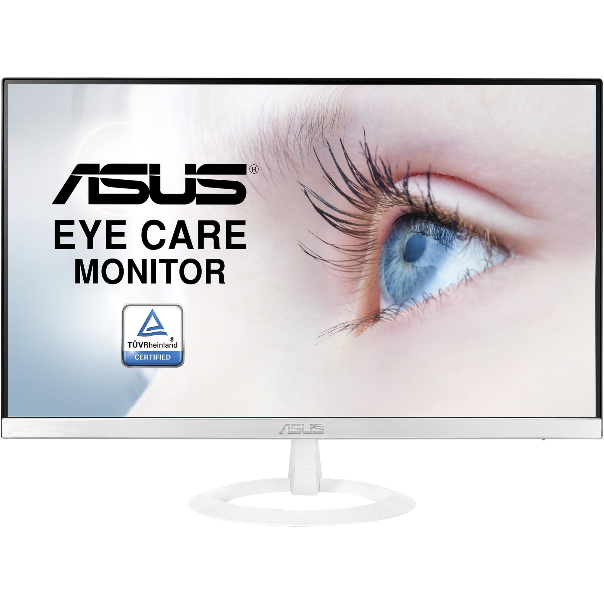 "Fotografie Monitor LED IPS ASUS 23.8"" ,FullHD, 5ms, Flicker free, Low Blue Light, HDMI, VZ249HE-W"