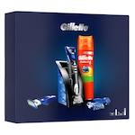 Комплект Gillette Styler: Самобръсначка Styler + Гел за бръснене, 200 мл