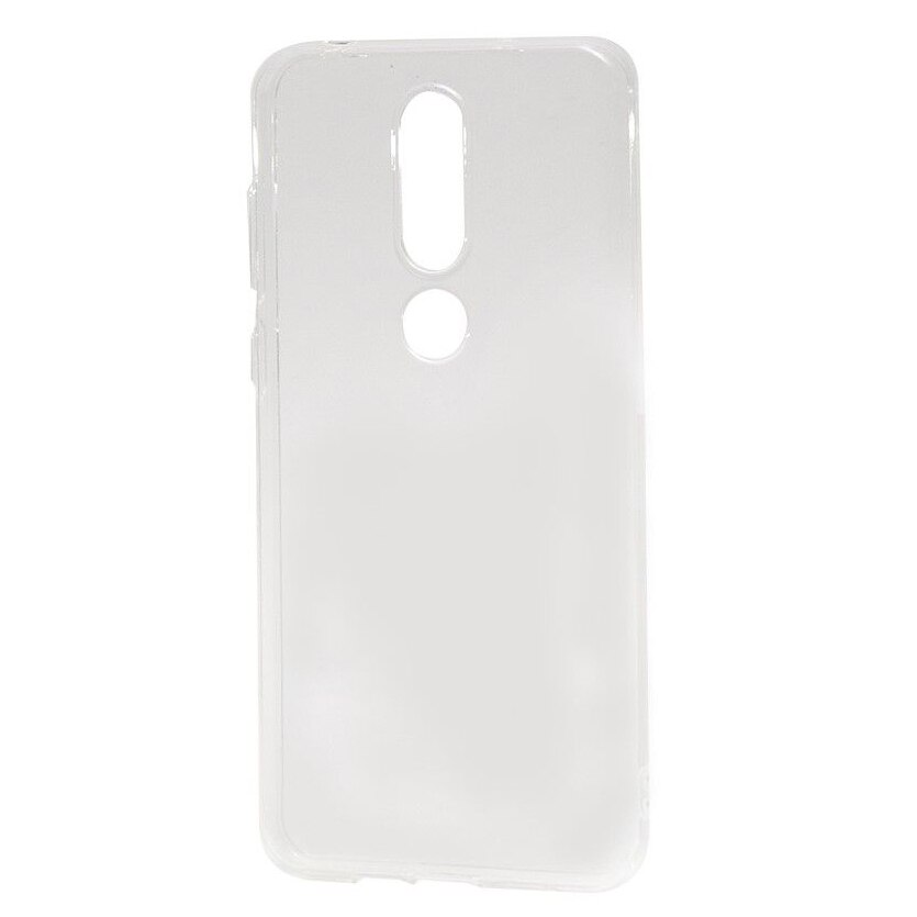 Fotografie Husa de protectie Devia Naked Silicon pentru Nokia X6 / 6.1 Plus, Transparent