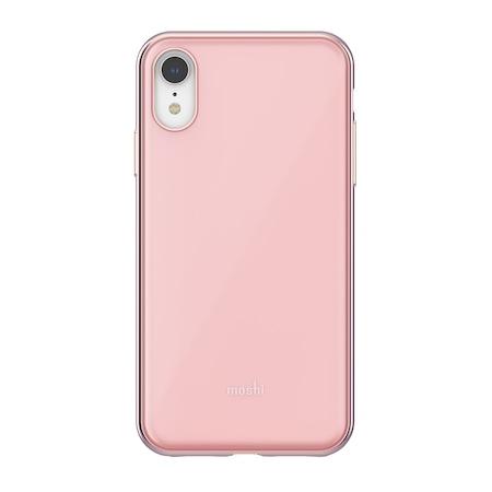 Husa de protectie Moshi iGlaze pentru Apple iPhone XR, Taupe Pink