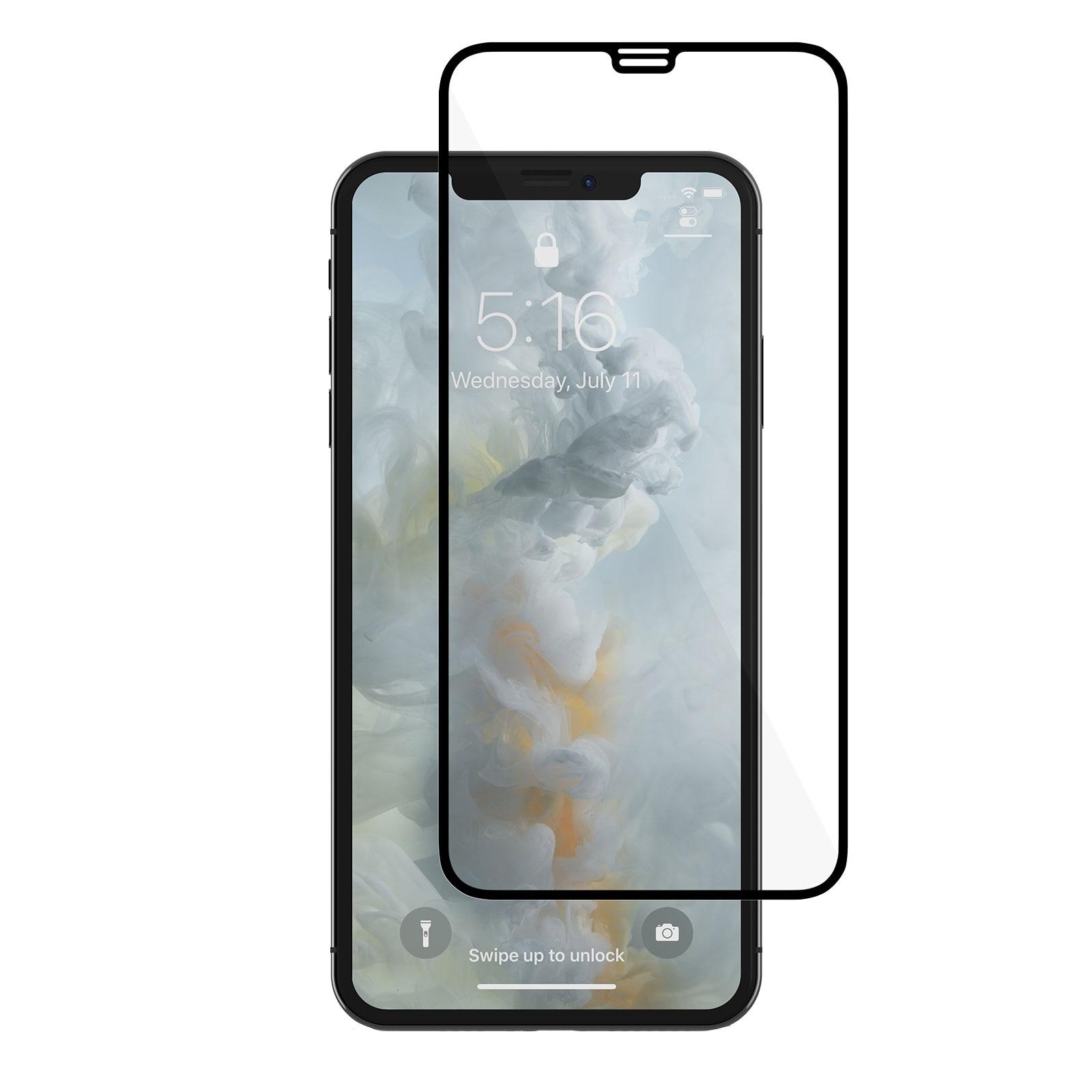 Fotografie Folie de protectie Moshi IonGlass pentru Apple iPhone XS Max, Black