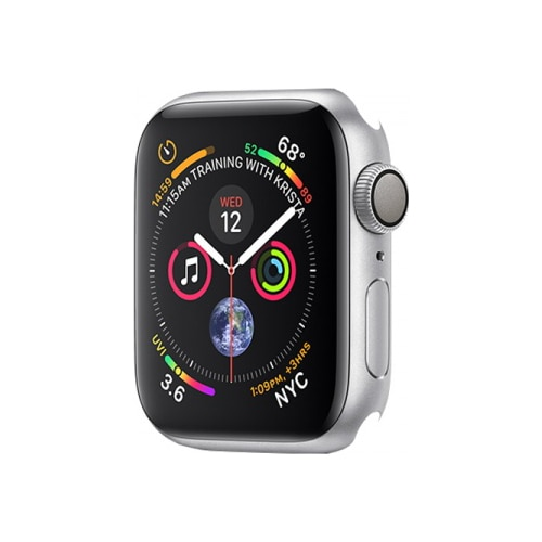 Fotografie Apple Watch Series 4 GPS, 44mm Silver Aluminium Case Only (DEMO)