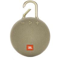 JBL CLIP 3 Hordozható hangszóró, Bluetooth, Homokszín