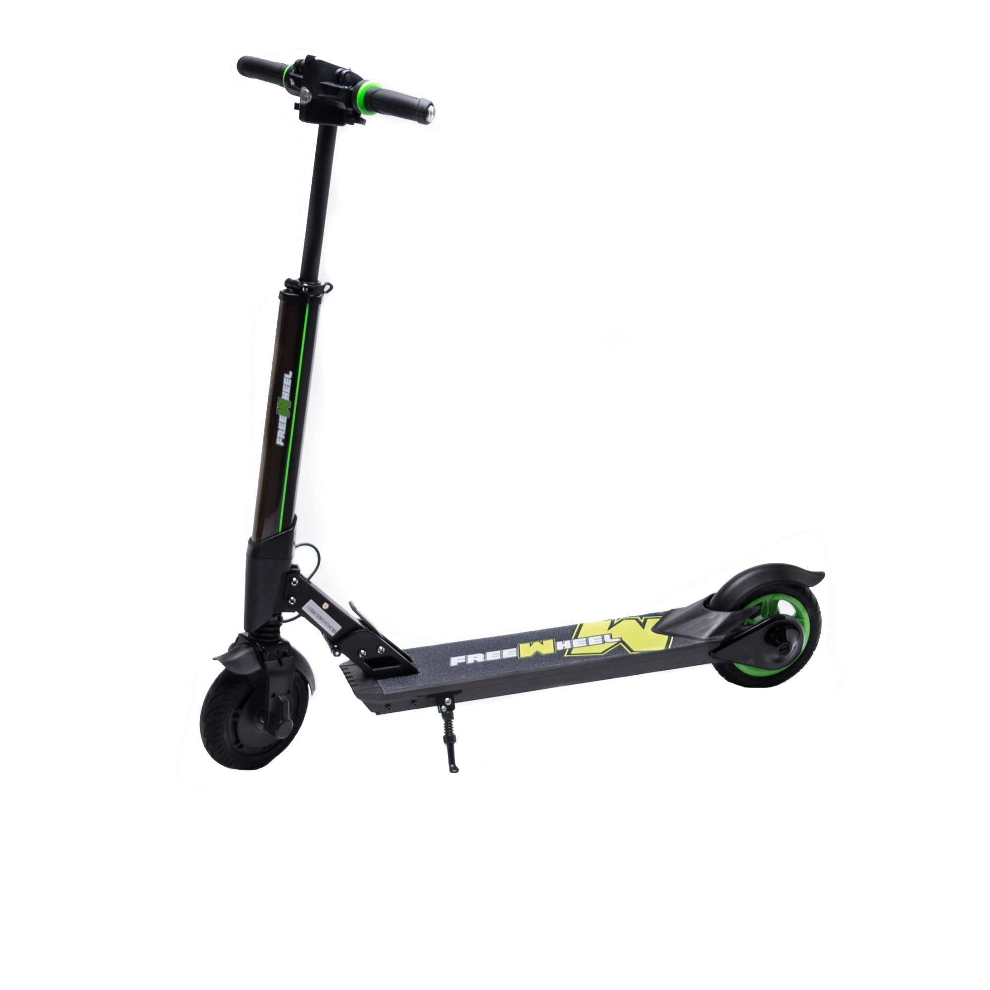 "Fotografie Trotineta electrica Freewheel Rider Kool, viteza 30km/h, autonomie 20 km, motor 250W, roti 8"", negru"