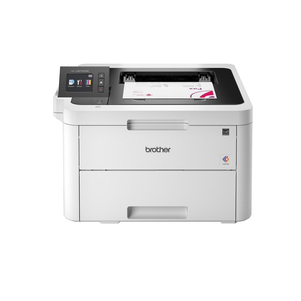 Fotografie Imprimanta laser color Brother HL-L3270CDW, Wireless, Retea, Duplex, A4