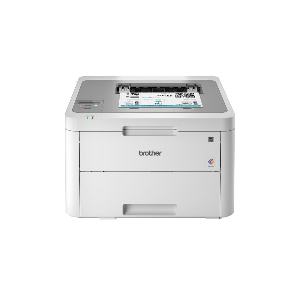 Fotografie Imprimanta laser color Brother HL-L3210CW, Wireless, A4