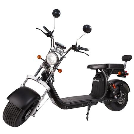 Motocicleta Electrica Smart Balance™, SB50 Urban Licence, Autonomie 60 Km, Viteza maxima 45 km/h, Timp incarcare 6h, Baterie detasabila 20 Ah, Suspensie Fata-Spate, Putere motor 1500W