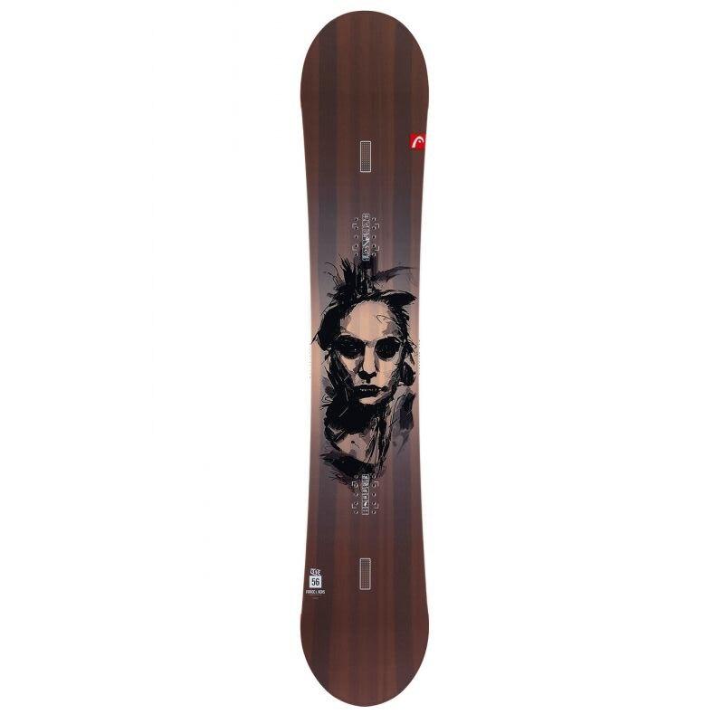 Fotografie Placa snowboard Head Force IKERS, 162 cm, Maro