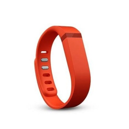 Резервна силиконова гривна Fitbit Flex Strap Large за Fitbit Flex, Размер L, Червен