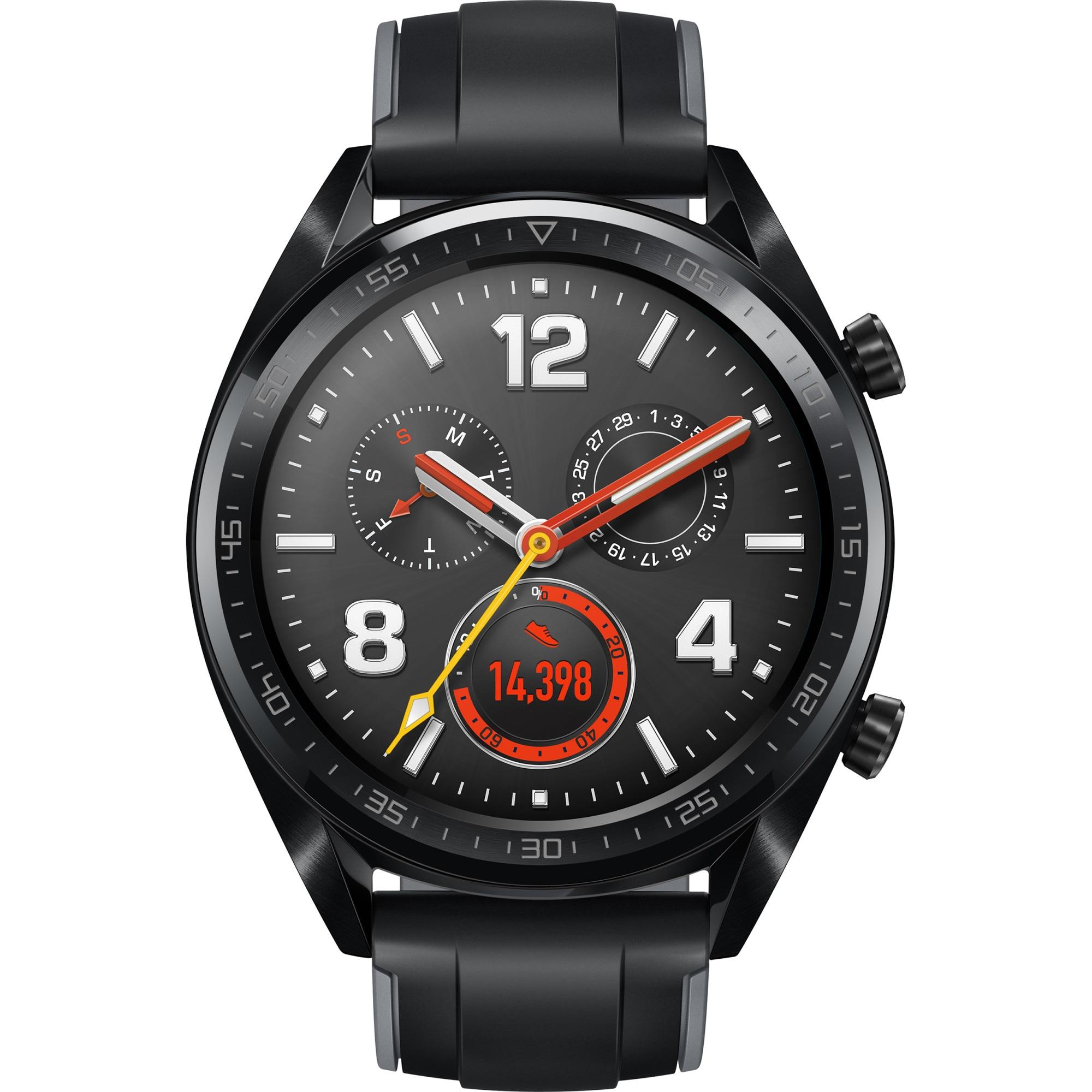 Fotografie Ceas smartwatch Huawei Watch GT, Sport Black