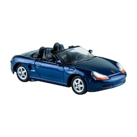 Welly Porsche Boxter kék kisautó, 1:60, 64