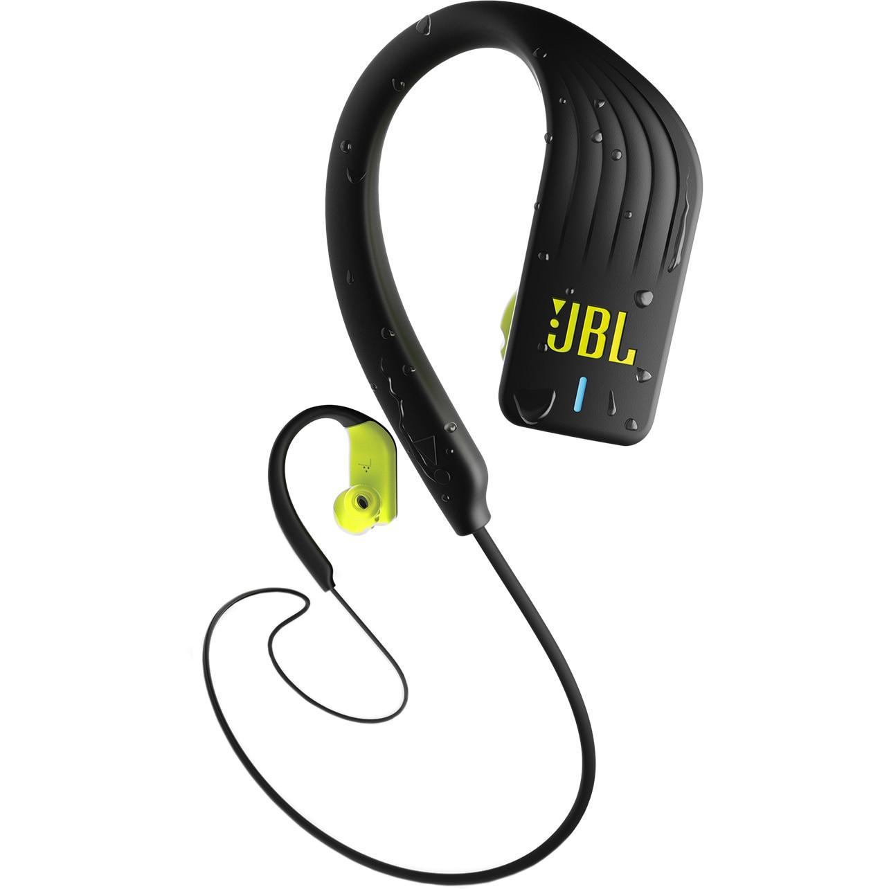 Fotografie Casti sport In-Ear JBL Endurance SPRINT, Waterproof, Bluetooth, Touch control, Twistlock, Hands-free, 8h Playback, verde