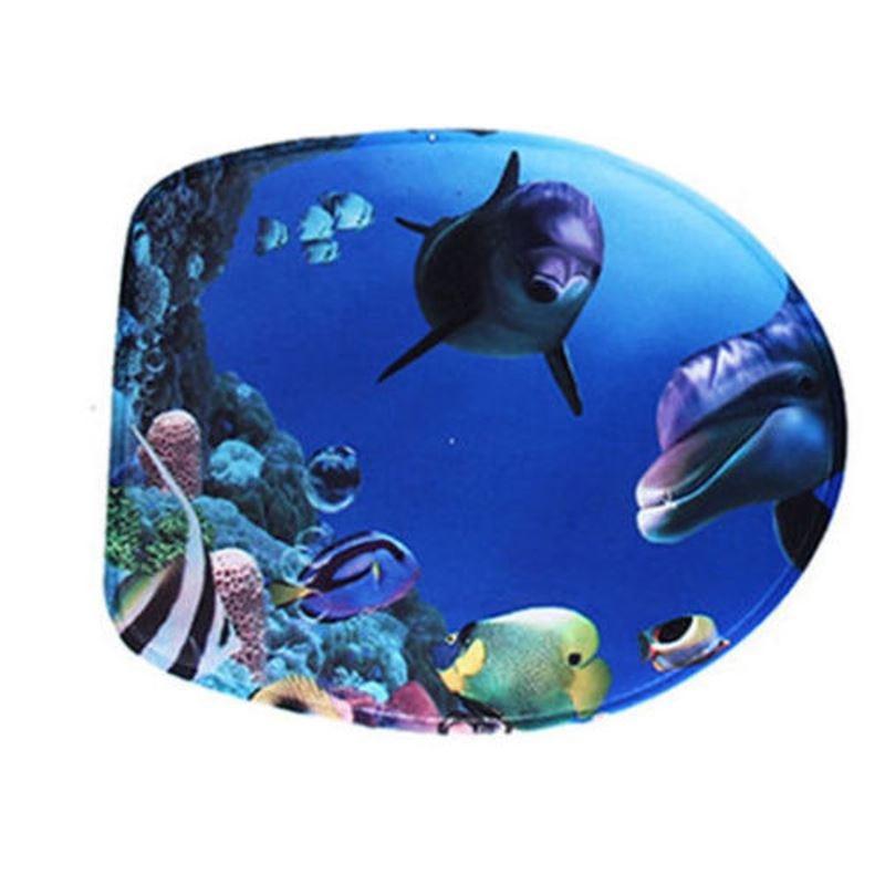 Delfin Háromrészes WC szőnyeg Szett + lábtörlő + WC