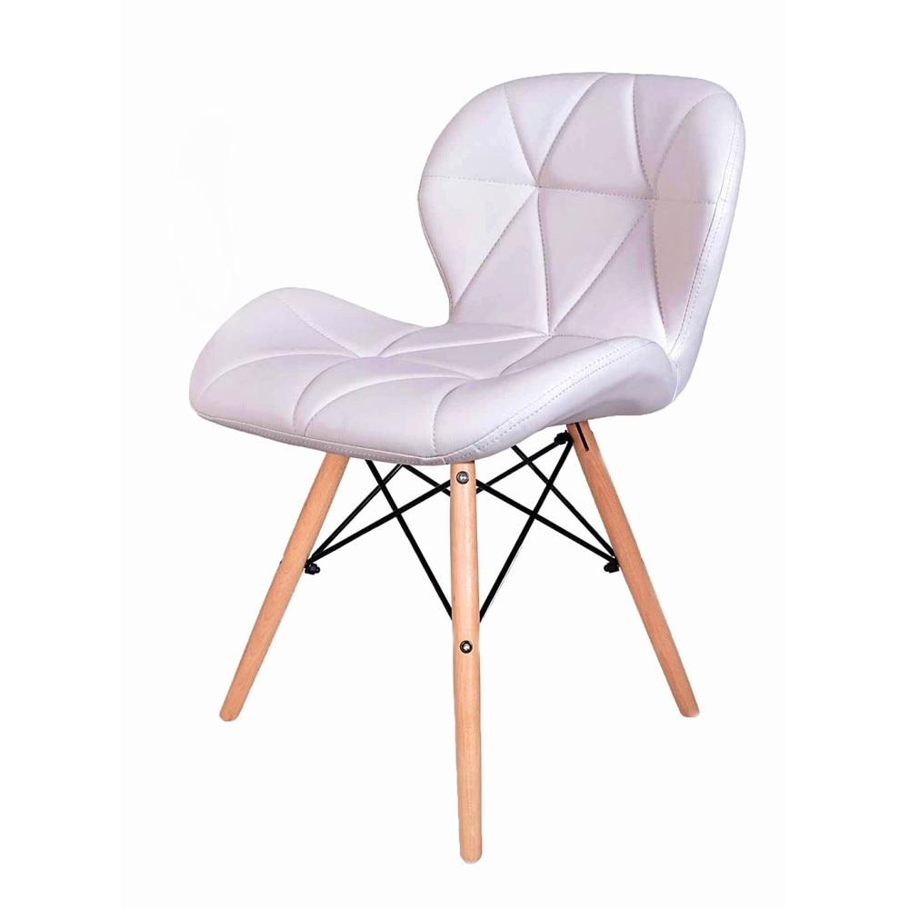Prestige szék fehér skandináv ökológiai bőrrel