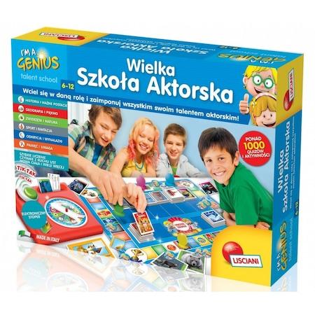 Jocuri educative, Liscianigioni, Scoala de actori Genius, Multicolor