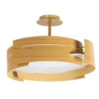 Berbera mennyezeti lámpa, E27, 3x60W, bükk fa mintás