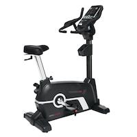 Bicicleta profesionala ergometru, fitness de exercitii BRX-9000 TOORX, Greutate utilizator : 180 kg, Sistem de franare prin inductie magnetica, 32 nivele de rezistenta