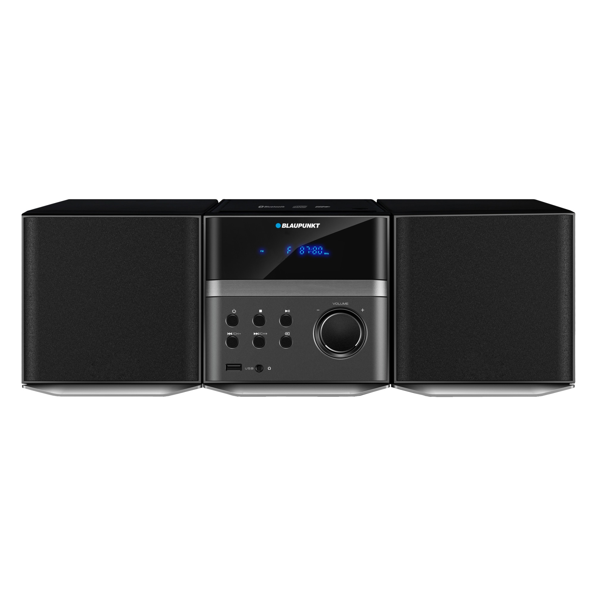 Fotografie Microsistem Blaupunkt MS7BT, CD, MP3, USB, bluetooth, negru