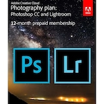 Adobe Photo Plan - Photoshop CC + Lightroom CC, Windows/Mac, abonament anual