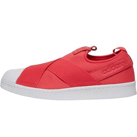 Adidas Originals Superstar Slip On 1425, Piros férfi cipő, 44 EU