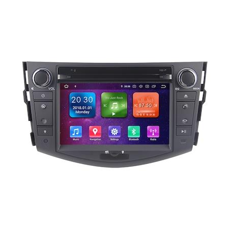 Мултимедия с навигация ZT, за Toyota Rav4 2005-2013, Android 10.1, 8+4+64