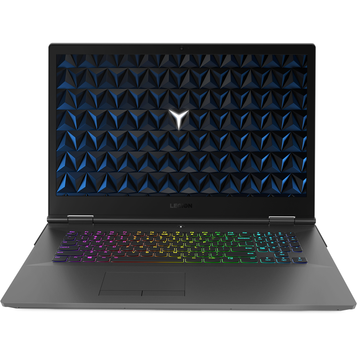 "Fotografie Laptop Gaming Lenovo Legion Y730-17ICH cu procesor Intel® Core™ i7-8750H pana la 4.10 GHz, Coffee Lake, 17.3"", Full HD, IPS, 144Hz, 16GB, 1TB + 256GB SSD, NVIDIA GeForce GTX 1050 Ti 4GB, Free DOS, Black"