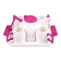 Комеплект за чай ,PRC FP44438, Лилав, 6 части