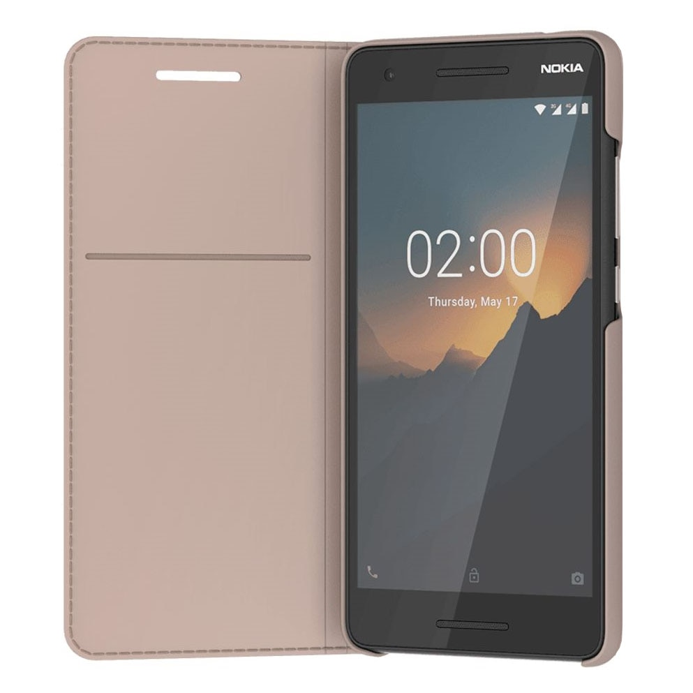 Fotografie Husa de protectie Nokia Entertainment pentru Nokia 2.1 (2018), Cream