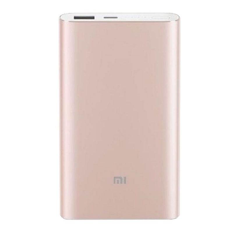 Fotografie Acumulator extern Xiaomi Mi Pro, USB, 10000 mAh, Gold