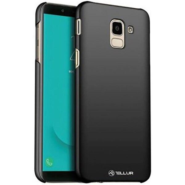 Fotografie Husa de protectie Tellur Tellur Super Slim pentru Samsung Galaxy J6 2018, Negru
