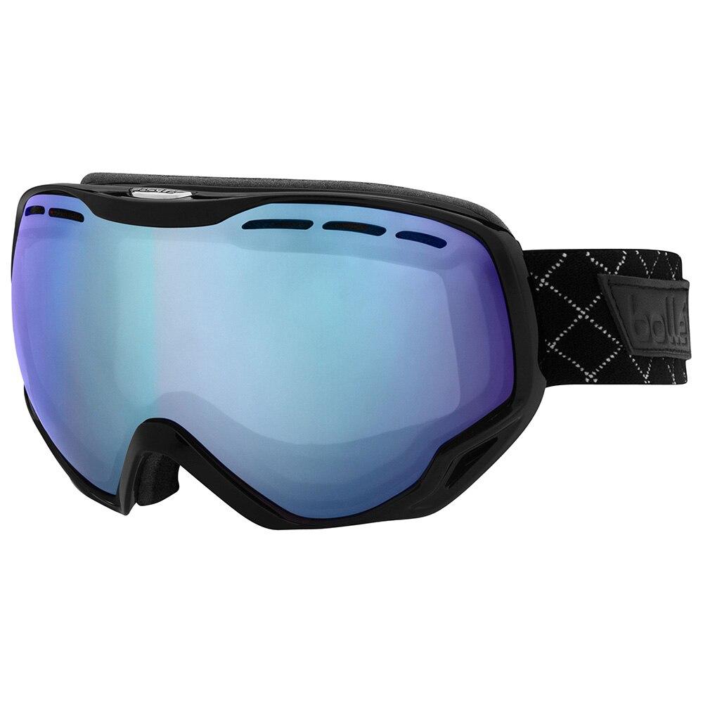 Fotografie Ochelari ski Bolle Emperor Shiny Black Modulator Light Control