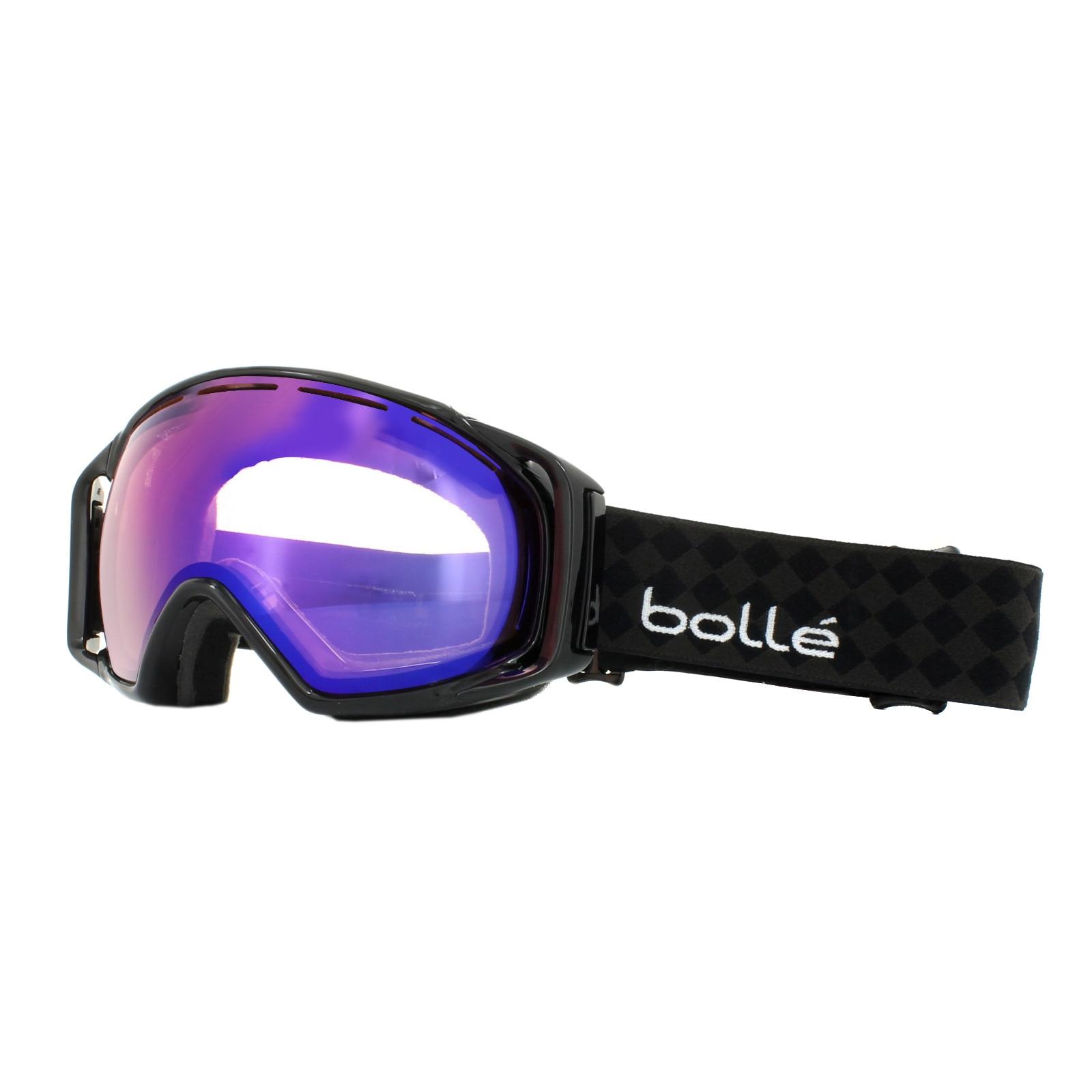 Fotografie Ochelari ski Bolle Gravity 2 Tones Black Modulator Vermillion Blue