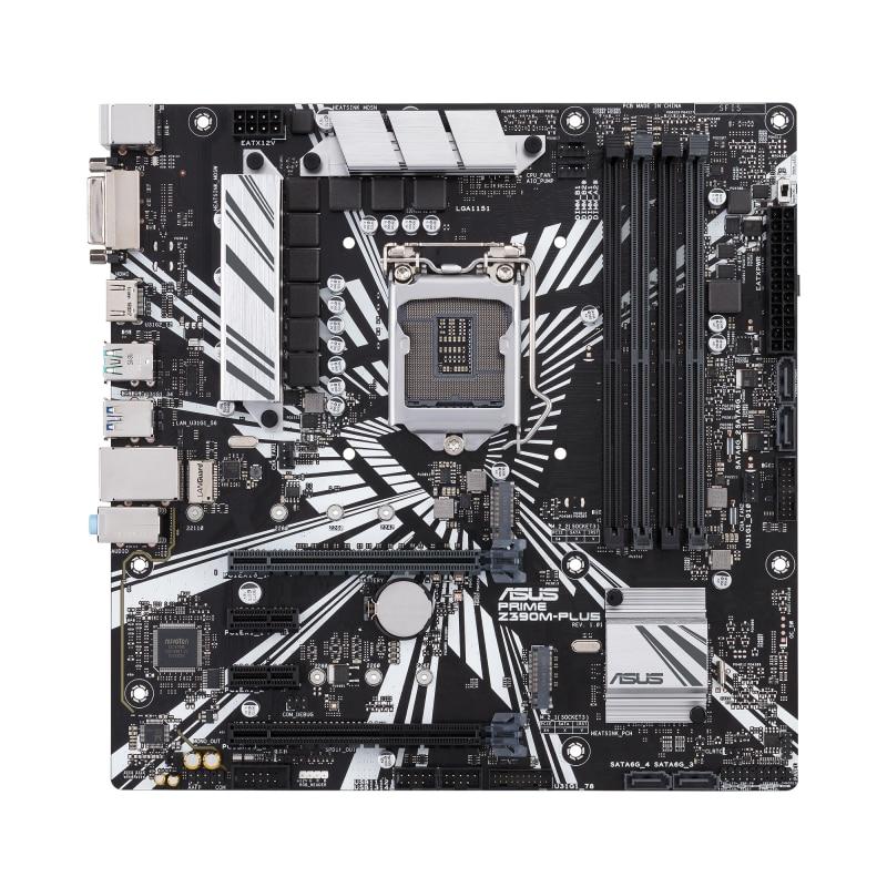 Fotografie Placa de baza ASUS PRIME Z390M-PLUS, Socket 1151