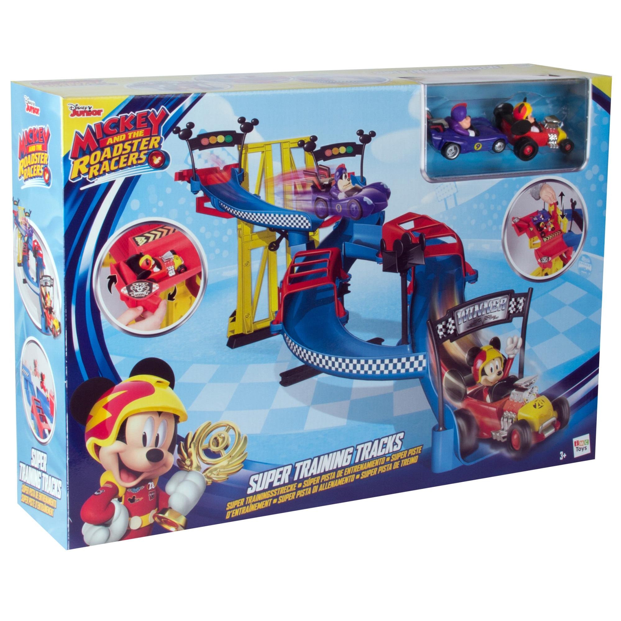 Fotografie Set pista de joaca Disney, Mickey si pilotii de curse