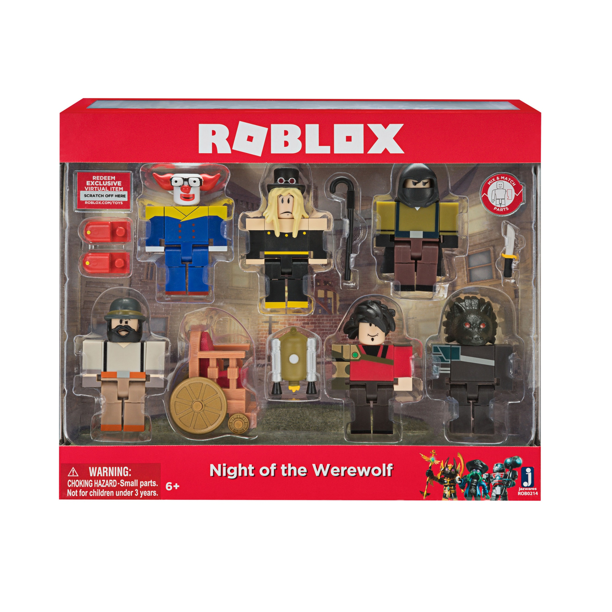 Fotografie Set 6 figurine Roblox