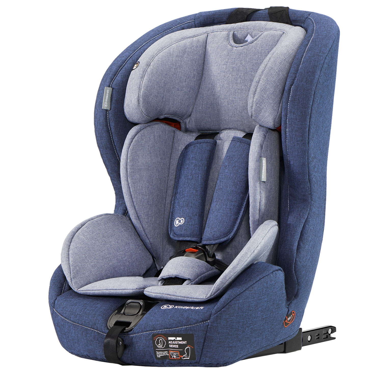 Fotografie Scaun auto ISOFIX Kinderkraft Safety-Fix, 9-36 kg, Albastru