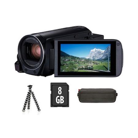 Canon Legria HF-R88 videokamera Prémium kit, Fekete
