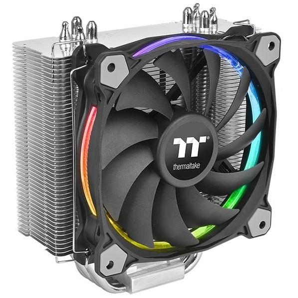 Fotografie Cooler procesor Thermaltake Riing Silent 12, compatibil Intel/AMD
