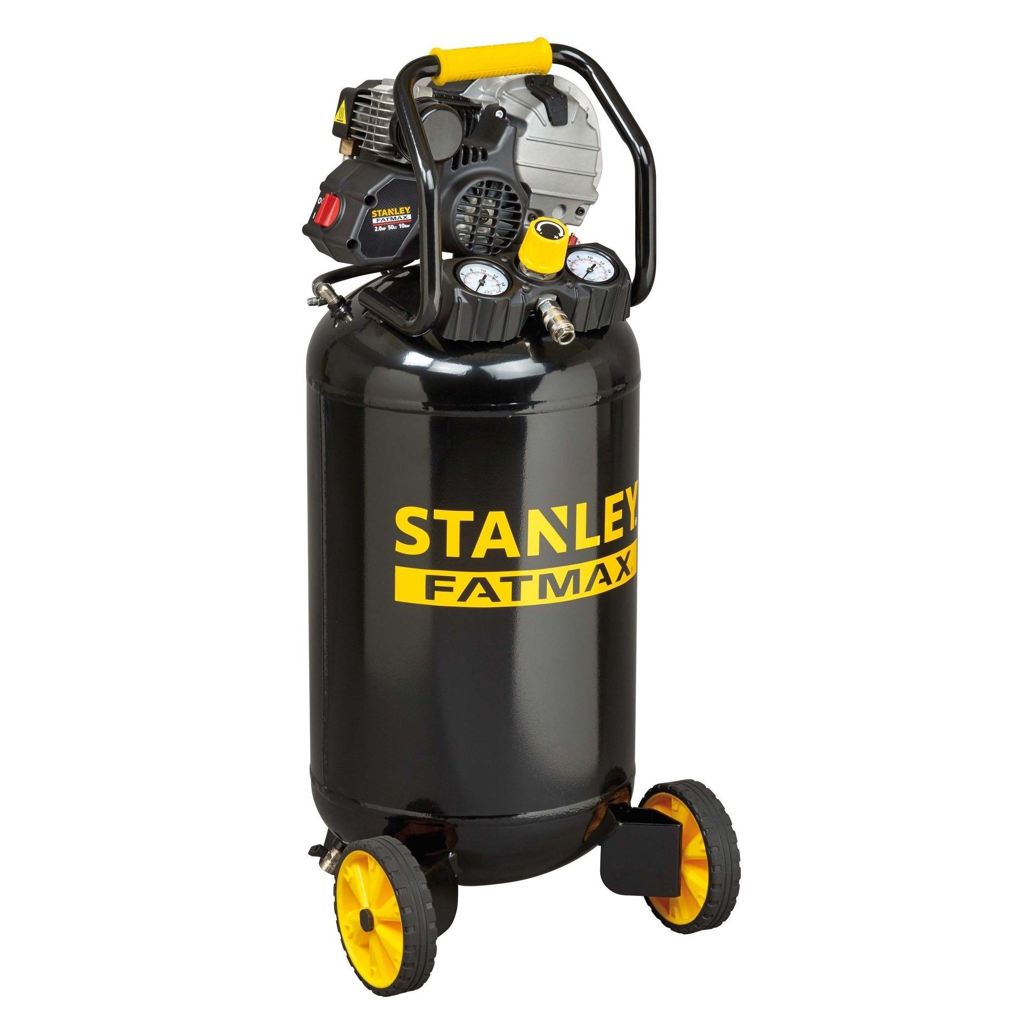 Fotografie Compresor de aer profesional Stanley FatMax, 50l, 2CP, 10 bar, 222l/m, vertical
