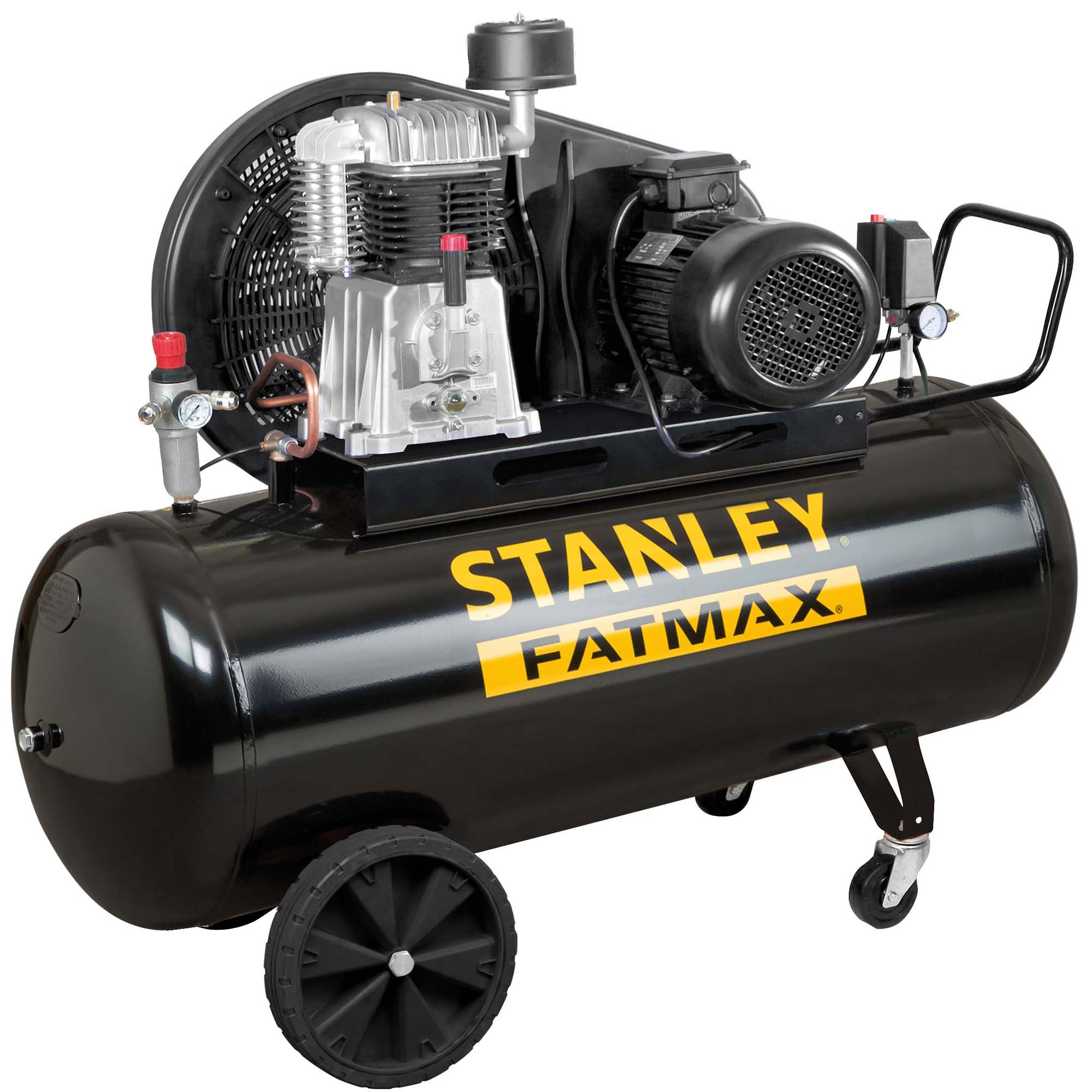 Fotografie Compresor de aer profesional Stanley FatMax, 270l, 5.5CP, 11bar, 640l/m