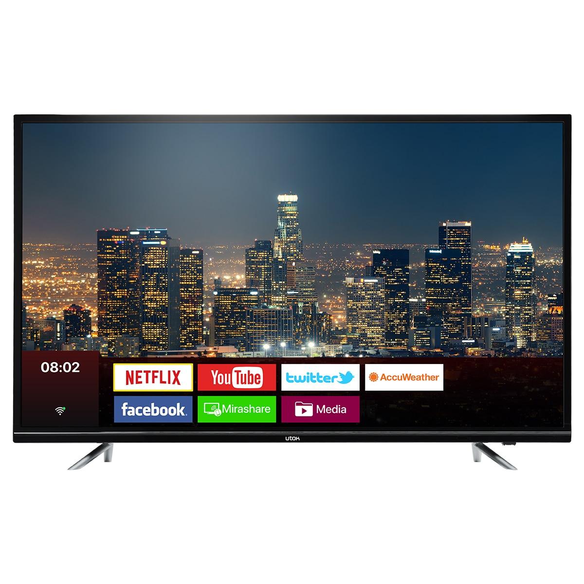 Fotografie Televizor LED Smart UTOK, 127 cm, U50UHD1, 4K Ultra HD, Clasa B