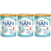 Pachet lapte praf Nestle NAN 4, 3x800 g, de la 2 ani