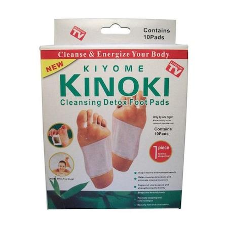 Plasturi pentru detoxifierea organismului Kinoki x 10 buc.