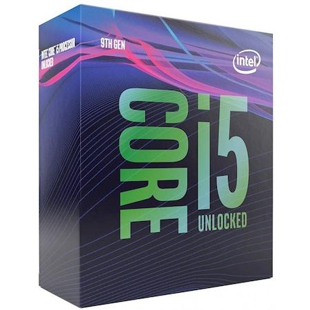 Процесор Intel Core i5-9600KF, 3.7 GHz, 9MB, Без вградена графична карта, Socket 1151 - Чипсет серия 300