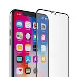 5D Стъклен протектор Full Face Tempered Glass за Apple iPhone XR, Черен