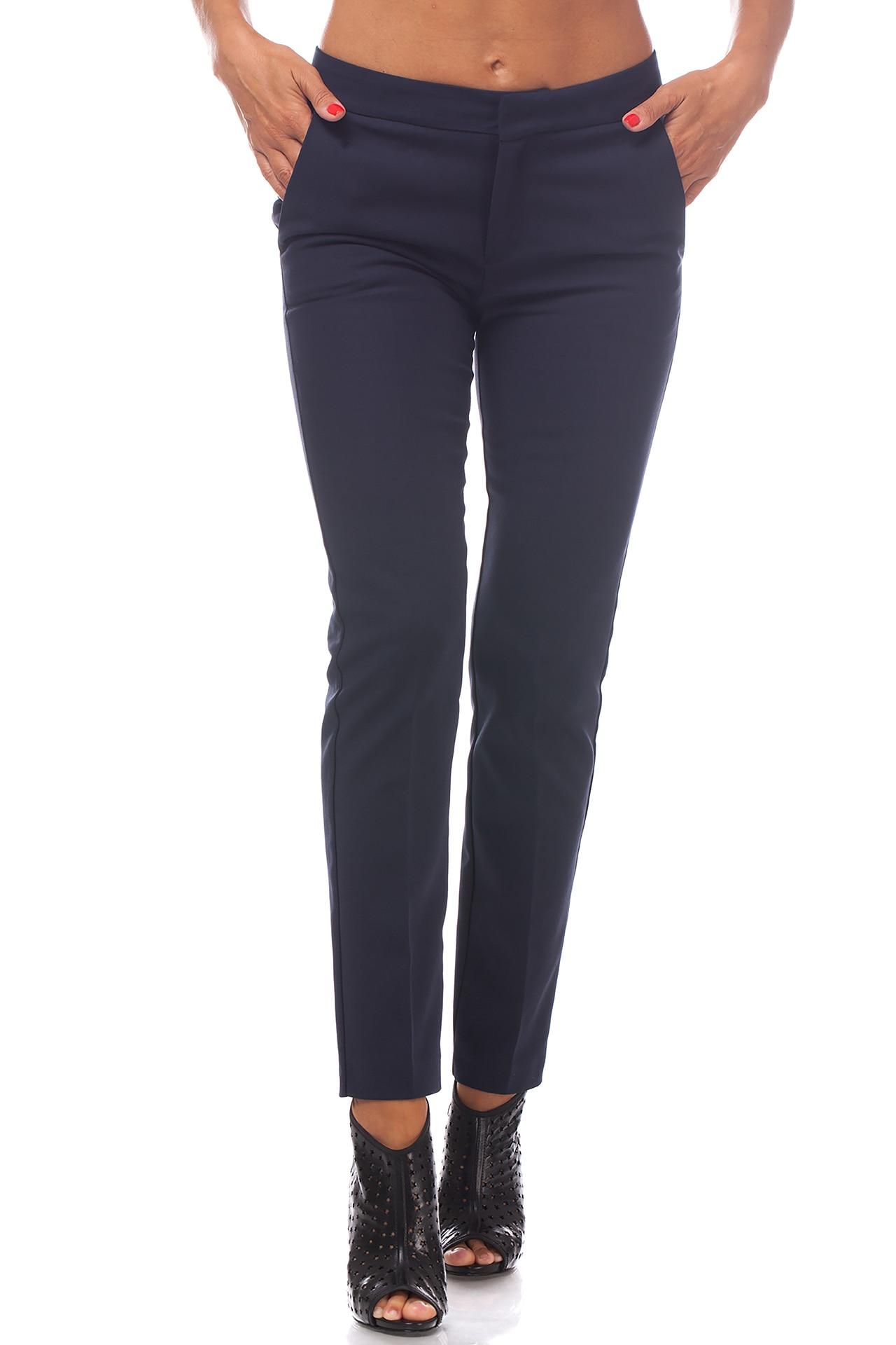 nouă cel mai bun serviciu preturi ieftine Pantaloni Bleumarin Dama